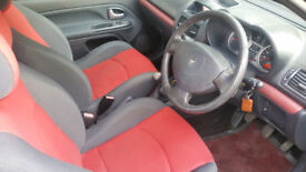 53 reg CLIO ,low mileage and RED interior, clean car ((BARGAIN))