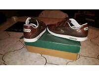 Lacoste trainers size 8
