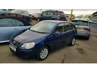 2007 VW POLO 1.4 petrol 60.000 miles 12 months free warranty included £2795