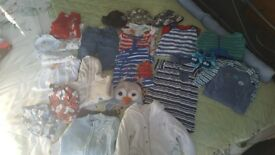 Baby boy bundle from 3-12 months