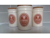 TEA SUGAR COFFEE CONTAINERS