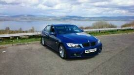 Hi am selling ma BMW 320d mot till March next year in good condition for a 2007 £2500