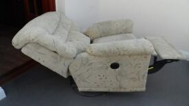 Electric Reclining Chair - Fabric