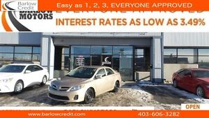 2012 Toyota Corolla CE (A4)*EVERYONE APPROVED*APPLY NOW DRIVE NO