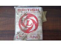 British Leyland vintage vehicle or engine badge