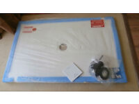 Traymate, TM25 ultra low 25mm Natural stone resin shower tray 1200 x 760