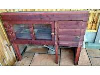 Hand crafted Rabbit hutch