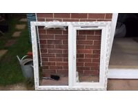 New unfitted UPVC window. Size is Width = 1055mm by height = 980mm.