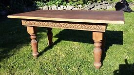 Coffee Table: Wooden