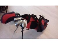 kids golf clubs and bag ( please text me or email )