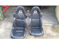 Mazda RX8 Front and Rear Leather Seats Defender T4 T5 Kit Car Plymouth