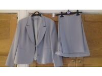 Ladies light grey suit