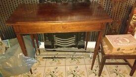 Antique Backgammon Table, good condition