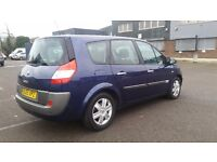 2006 (55 REG) 7 SEATER RENAULT GRAND SCENIC AUTO IN TOP CONDITION. 1 YEAR MOT. FULL SERVICE HISTORY