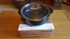 Pampered Chef Rockcrok Everyday pan - brand new in box