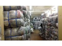 Joblot of 10 bales of mixed clothes adult B