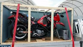 Motorbike shipping crate