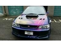 Subaru impreza UK 2000 turbo modified