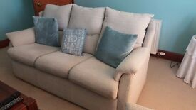 G plan 3 Piece suite with recliner
