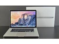 15.4' MacBook Pro Retina Display Quad Core i7 2.3GHz 8GB Ram 256Gb SSD Logic Pro X Ableton Adobe CC