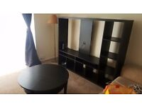 Entertainment Unit , Coffee Table , Wardrobe, Stand Up Mirror and Wall Mirror