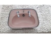 1950s/60s vanity sink