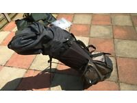 Wilson Pro Staff Golf bag, clubs and accessories