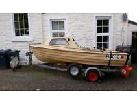 Bonwitco With 14ft 9ins fishing boat