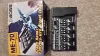 Boss ME 70 Multiple Effects Pedal Board