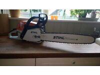 "Stihl MS261 Chainsaw 18"" new bar"
