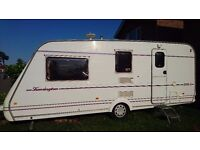 1998 COMPASS CARAVAN 4berth COMPLETE WITH FULL SANDRINGHAM AWNING