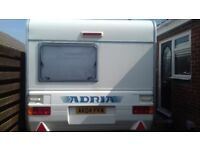 4 berth light weight fixed bed &motor mover
