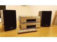 Denon and Quad speaker system