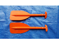 Pair of Telescopic Emergency Paddles ideal for dinghies, kayaks, liferafts