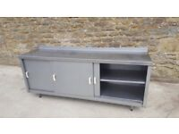 3 door storage unit