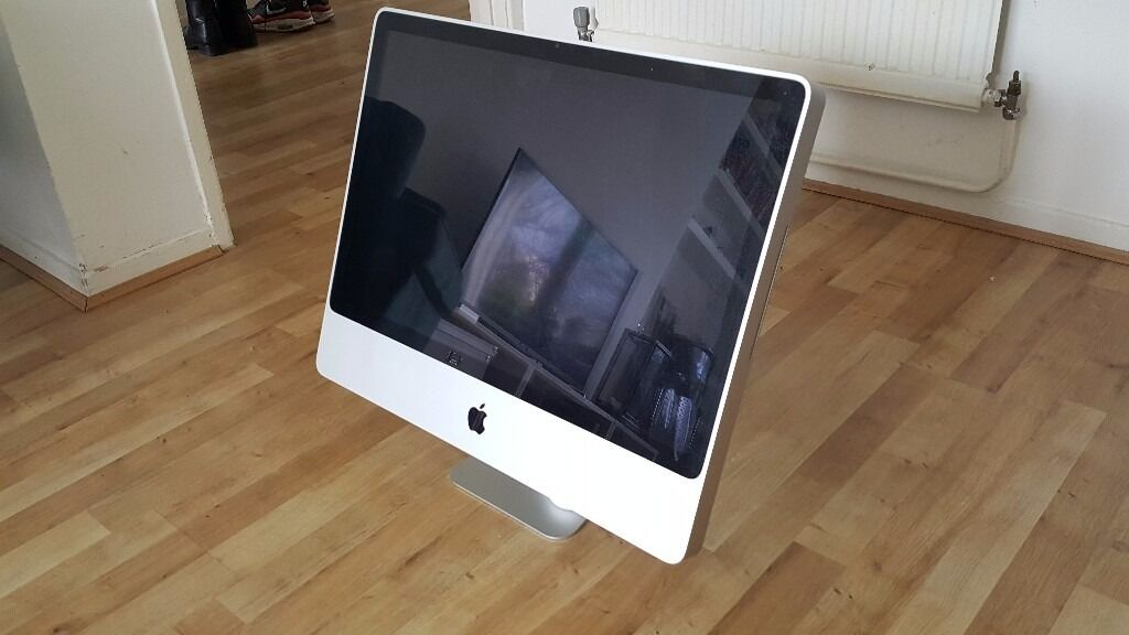 "Apple iMac 2009 for salein Hackney, LondonGumtree - Apple iMac A1225 24"" Desktop MB418B/A (March, 2009) Brand Apple Hard Drive Capacity 640 GB MPN MB418B/A Processor Type Intel Core 2 Duo Product Family iMac Processor Speed 2.66GHz Screen Size 24in. Type All in One Memory 4GB Release Year 2009..."