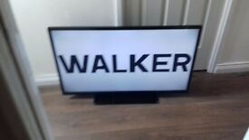 "WALKER 40"" HD TV. REMOTE. WORKING PERFECT FLATSCREEN NOT SAMSUNG 42 47 50 32 DVD USB HDMI SURROUND"