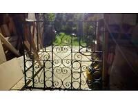 Wrought iron(steel) gate