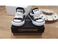 All Star Converse (black) Baby size 2.