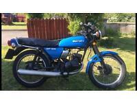 Suzuki gp 125 . Classic , project , 2 stroke