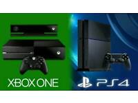 Wanted faulty xbox one ps4 consoles