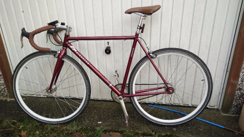 Single speed / fixie with lights