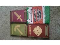 Minecraft manuals x4