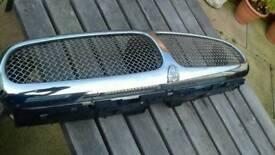 Jaguar xtype chrome grill