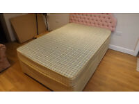 Small double bed for sale 4' wide ...good condition