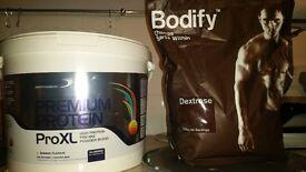 3kg Protein + 2.5kg Dextrose!!