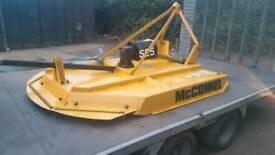 Mcconnel sl5 topper tractor pto mower