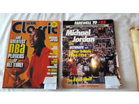 SLAM classic greatest NBA players of all time + Farewell #23 MJ tribute