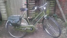 Balmoral Highlands vintage ladies bike.