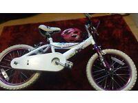 """Girls 16"""" Huffy Bike"""